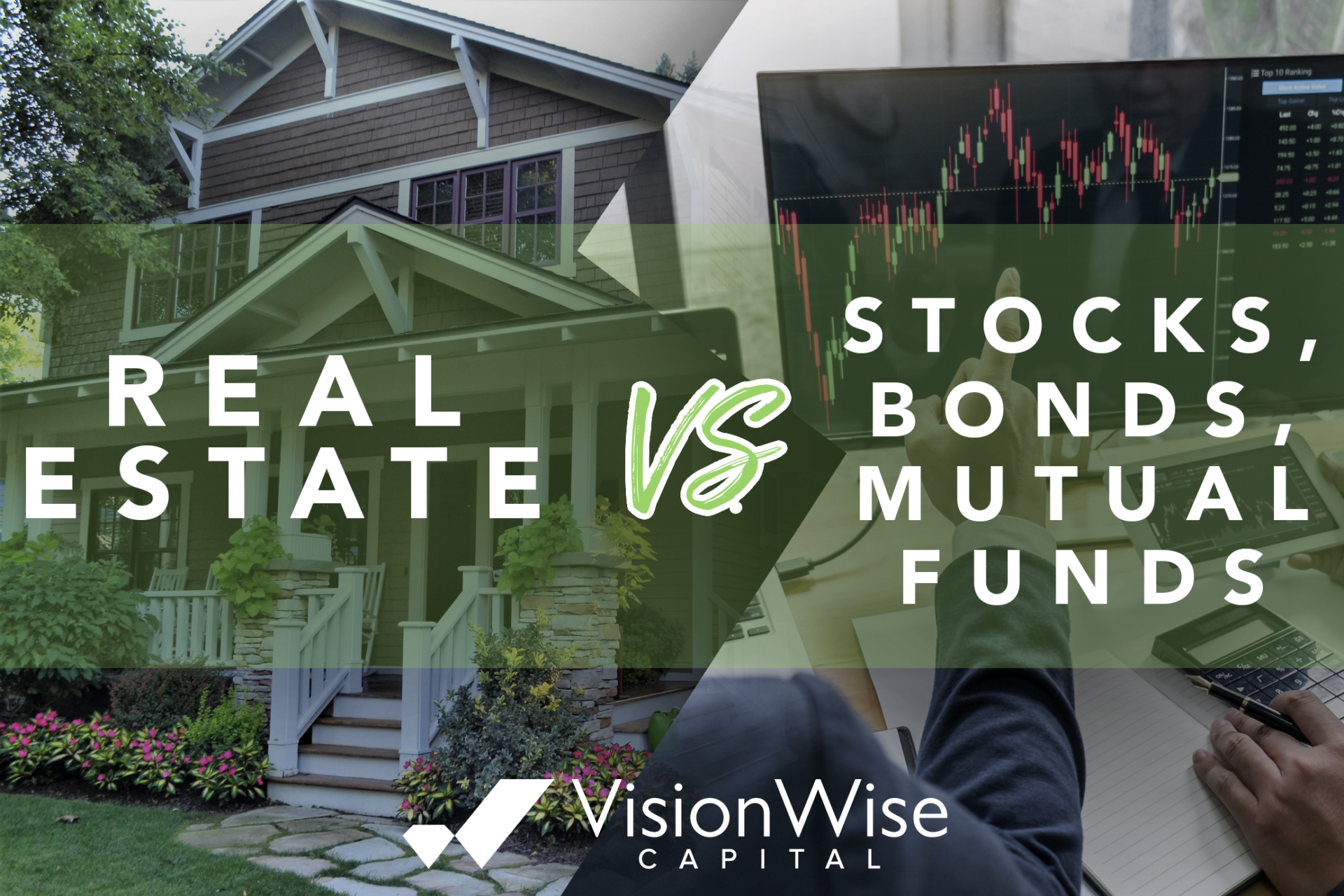 Real Estate vs. Stocks, Bonds, and Mutual Funds?